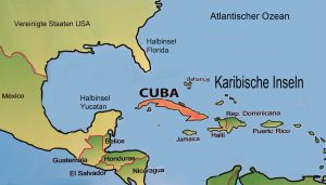 map of Cuba 2016 Uncovered